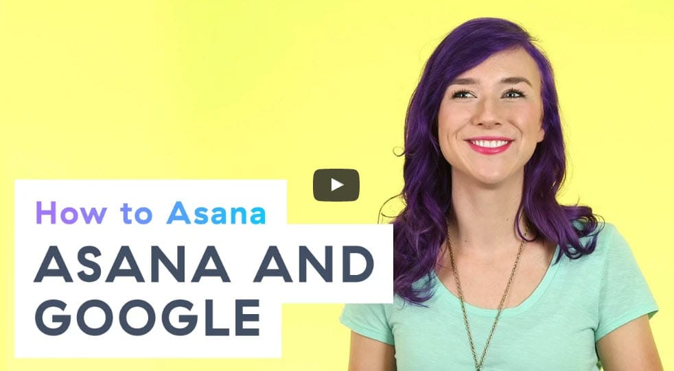 asana g-suite integration video